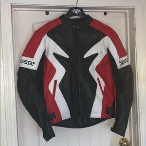 Joe Rocket leather ridder's jacket size 44
